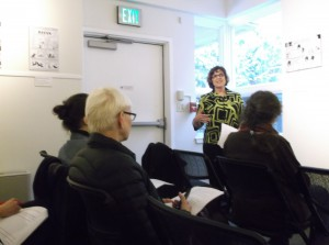 Karen Witter conducting advocacy training workshop, CHAMP 2015, January 26-30, 2015, Juneau, Alaska