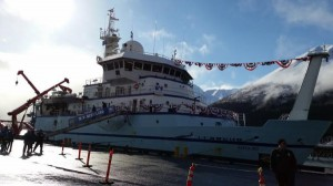 The commissioning ceremony in Seward on March 7.