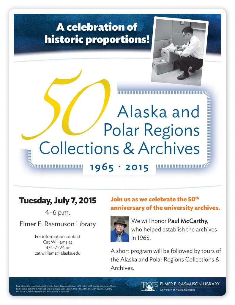 50th Anniversay of the UAF Archives Celebration