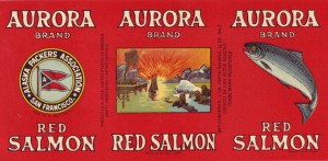 Alaska Packers Association canned salmon label, 1933. Courtesy of Robert King.