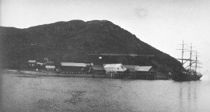 N.W.F. Company Salmon Cannery, Uyak, Alaska. Photo courtesy of Anjuli Grantham.