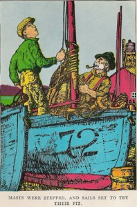 "Artwork by Mahlon Blaine for Jack Calvin's 1930 novel, ""Fisherman 28,"" set in Bristol Bay."