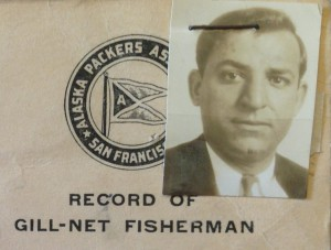 Records of Gill Net fishermen from Alaska Packers Association of San Francisco.