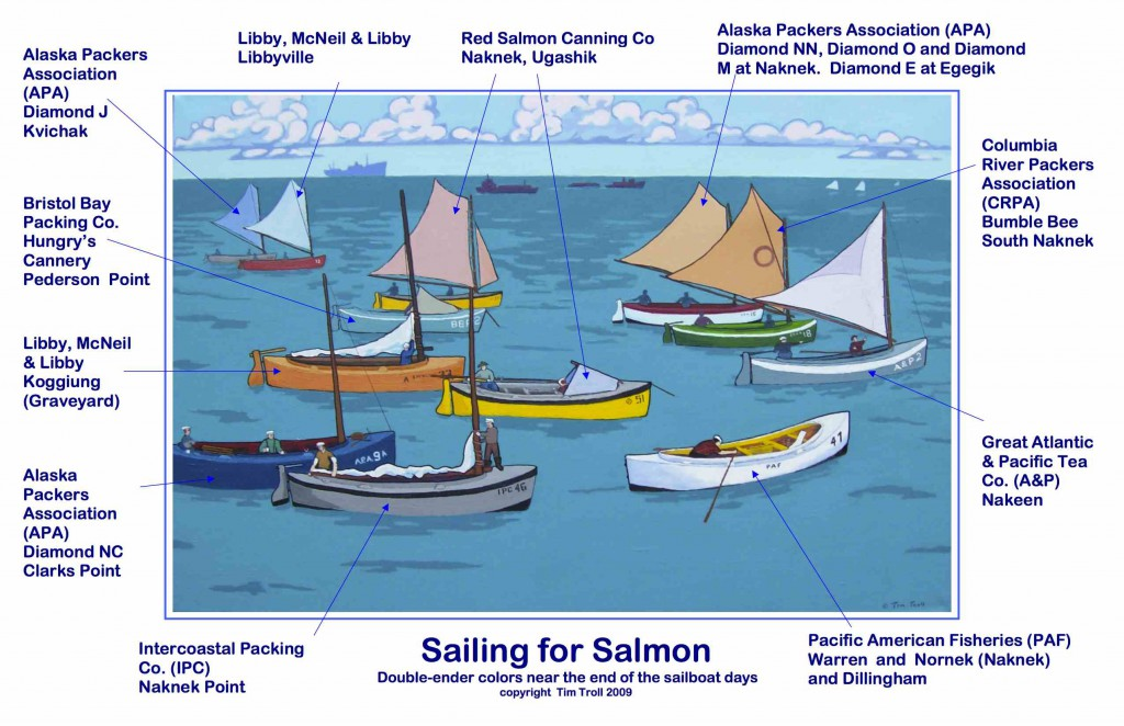 Sailing for Salmon