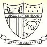 BURTON ISLAND Crest