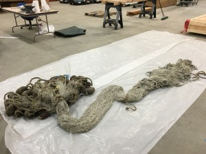 Bristol Bay double-ender gill net to go on display at museum in Juneau.