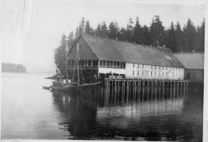 Icy Straits cannery in Petersburg, courtesy Clausen Memorial Museum