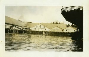 Pacific American Fisheries cannery in Petersburg, image courtesy Clausen Memorial Museum